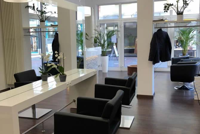 Unser Salon (Bllck von Innen)